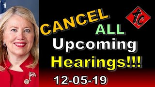 Cancel All Upcoming Hearings!!! - Truthification Chronicles