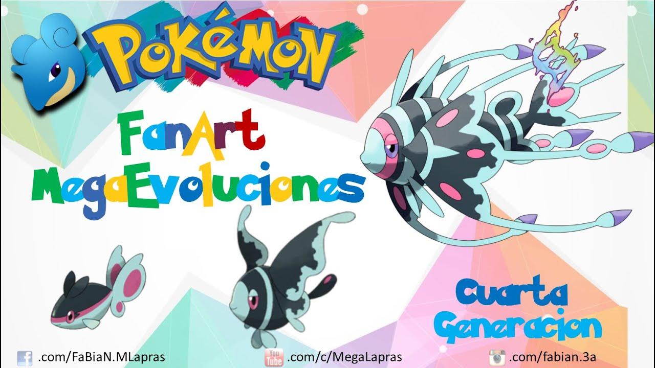 Pokémon - Mega Evoluciones Cuarta Generación (FANART // OFICIALES ...
