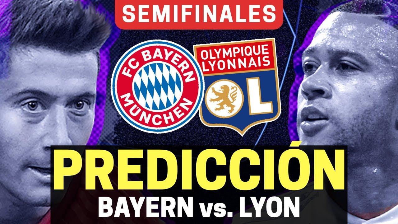 ⭐ BAYERN MUNICH vs OLYMPIQUE LYON | Semifinales - Champions League [2020] | Predicción y Pronósticos