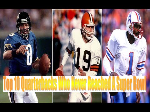 Top 10 Quarterbacks Who Never Reached A Super Bowl