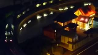 【鉄道模型】水田に写る、KATO`トワイライトエクスプレス瑞風