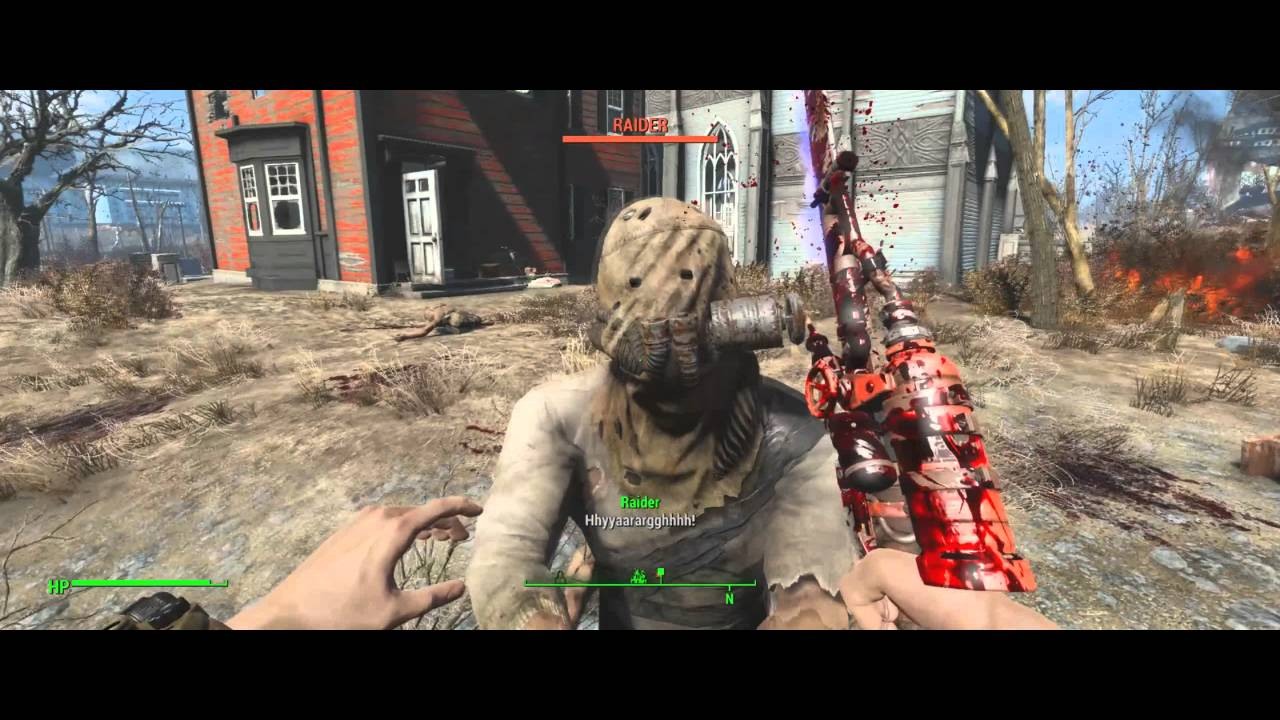 Fallout 4 Melee kill animations