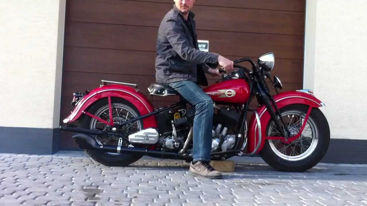 Harley Davidson 1938 Youtube Ul Pictures