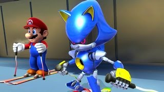 Mario & Sonic at the Sochi 2014 Olympic Winter Games - Racing Medley
