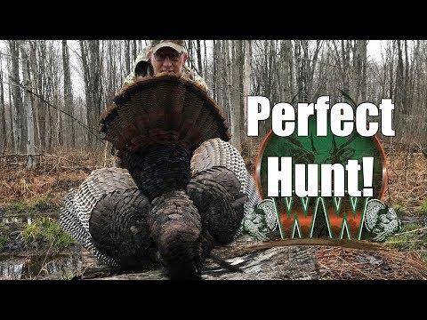 Perfect Opening Day!   Pennsylvania Turkey Hunting