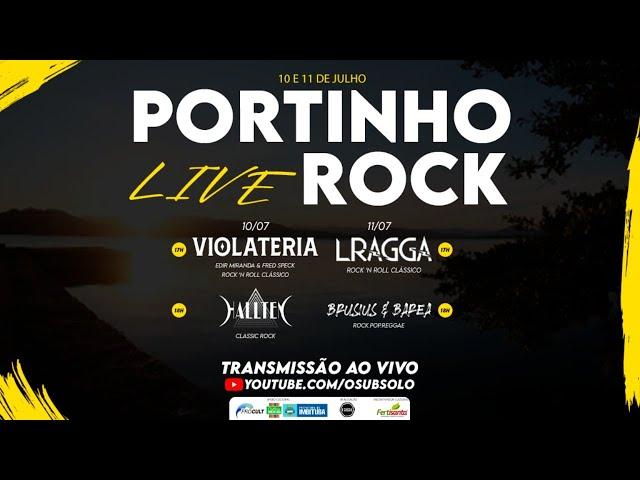 Live - Portinho Rock - LRagga | Brusius e Barea