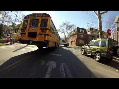 Driving by Borough Park Brooklyn,New York