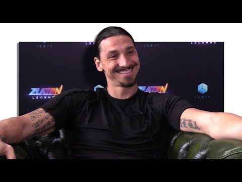 Zlatan Ibrahimovic Exclusive Interview At The Launch Of His New Video Game 'Zlatan: Legends'