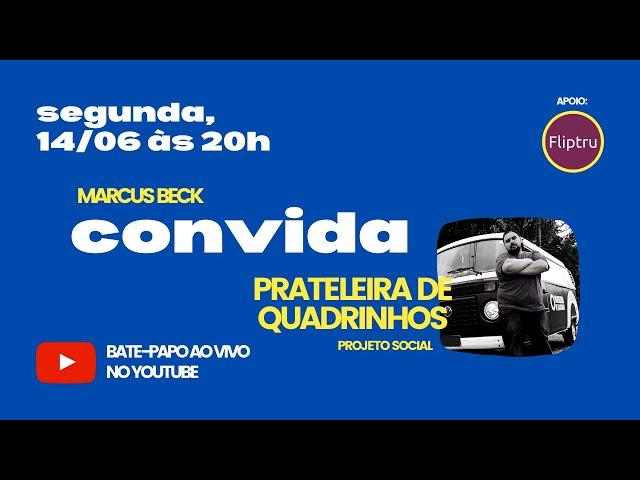CONVIDA #09 - Prateleira de Quadrinhos (projeto social)
