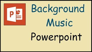 How to insert background music to Powerpoint 2010