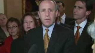 Senate President pro Tem Darrell Steinberg on late night budget negotiations.