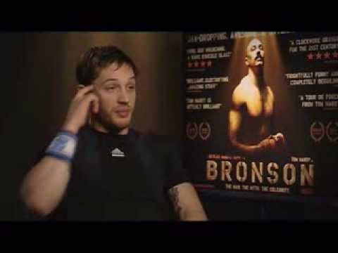 Tom Hardy Bronson Interview (2009)