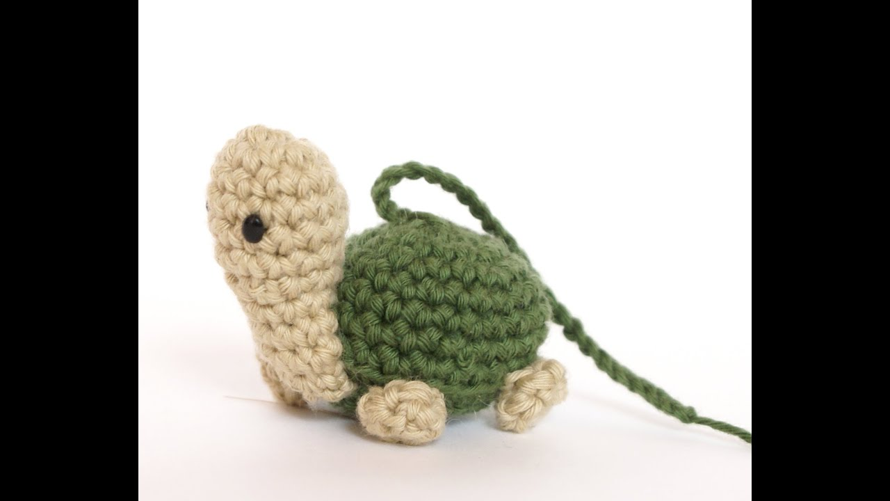 Tutorial Mini Tortuga Amigurumi Turtle (english subtitles) - YouTube