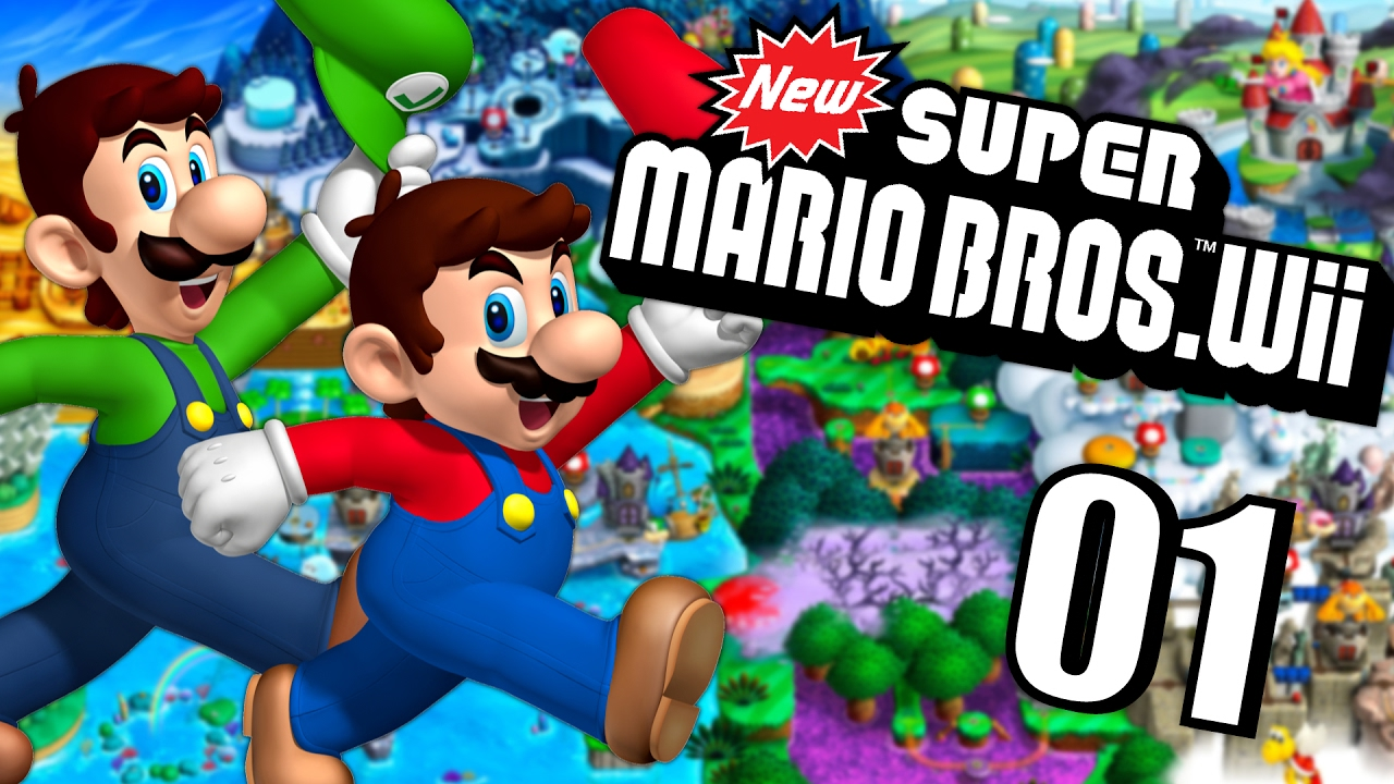Mario et luigi partent a l 39 aventure new super mario bros - Bebe mario et bebe luigi ...