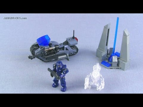 Mega Bloks Halo 97116 Unsc Siege Bike Set Review Youtube