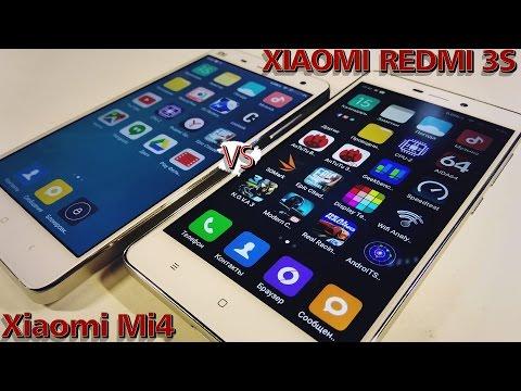 Xiaomi Redmi 3S против Xiaomi Mi4    Обзор-Сравнение-Распаковка