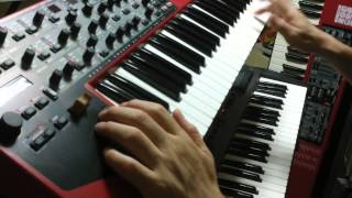 Romeo Intro Part with nord wave & Roland RS-70
