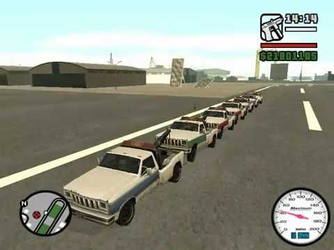how to get a train in gta san andreas