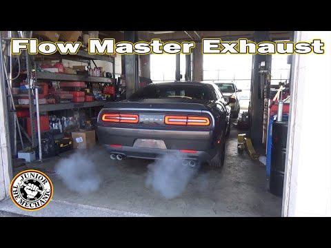 best exhaust for dodge challenger rt