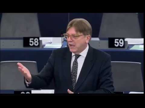 Guy Verhofstadt 17 May 2017 plenary speech on the Conclusions of the Special European Council