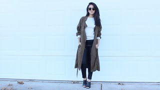 Black Jeans 3 Ways | LookBook