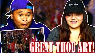 Pentatonix - How Great Thou Art (OFFICIAL VIDEO) ft. Jennifer Hudson | REACTION!