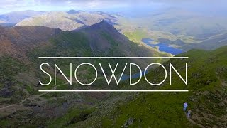 Snowdon Drone Footage