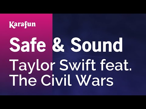 Karaoke Safe & Sound - Taylor Swift *