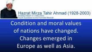What Ahmadiyyas thinks about Prophet Muhammad (sub-titles)