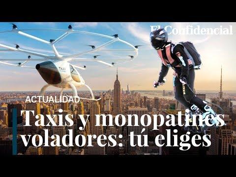 Del Flyboard de Franky Zapata al Uber Air: los coches voladores están cada vez más cerca