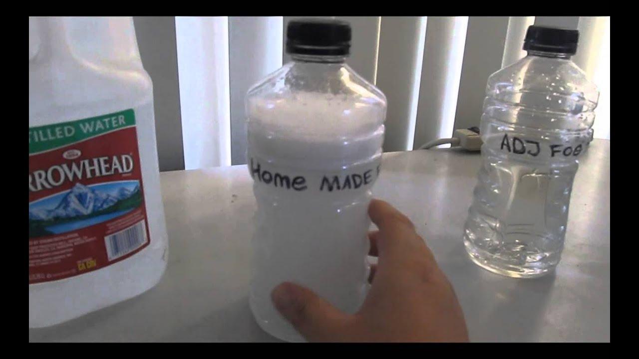 How To Make Fog Fluid How To Make Fog Juice Youtube