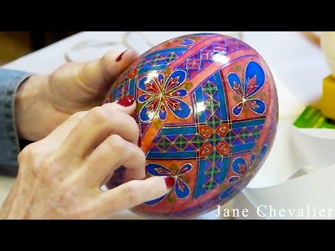 DIY Egg Art Tutorial - How to Measure and Divide Ostrich Eggs without a Lathe