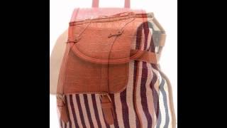 видео Сумка рюкзак женская кожаная