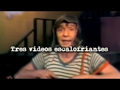 3 videos escalofriantes