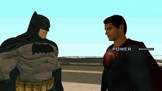 Batman V Superman Dawn Of Justice Mod - GTA SA