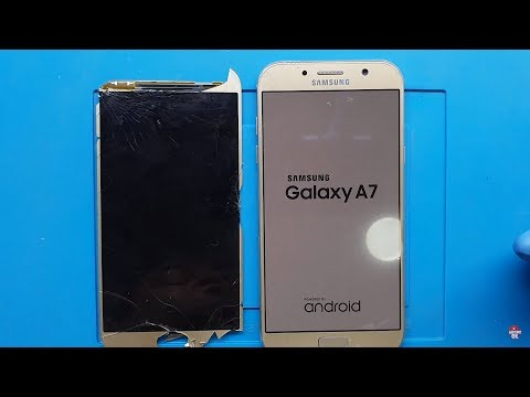 Samsung Galaxy A720 (A7 2017) Screen Replacement