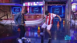 Fekret Sami Fehri S02 Ep22 | Mok Saib  ومصطفى حواص في تحدي كرة القدم