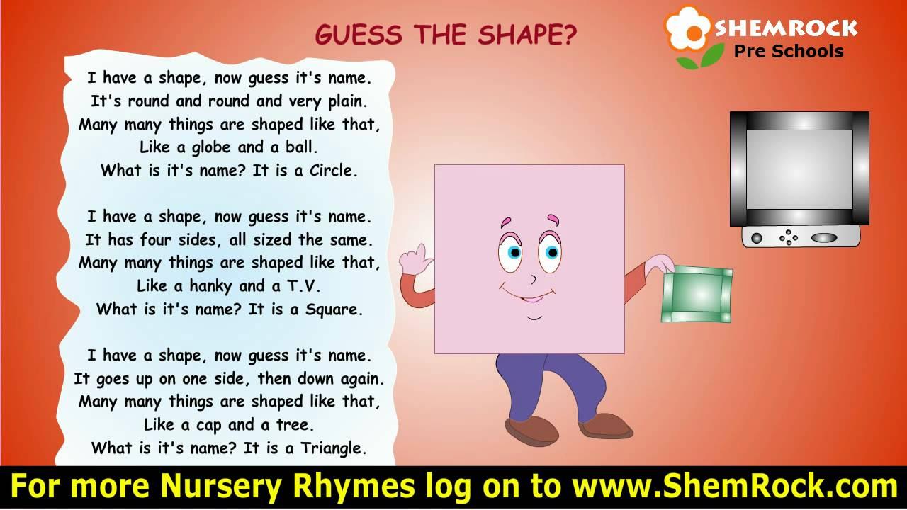 Kids Guess Songs Lyrics
