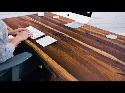 Solid Wood Desks by UPLIFT Desk