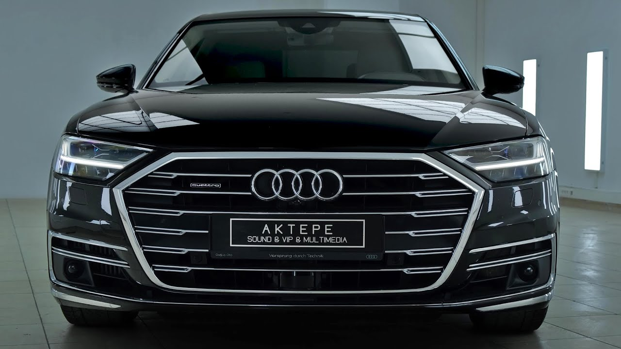 2021 Audi A8L - Exterior and interior Details (Luxury Sedan)