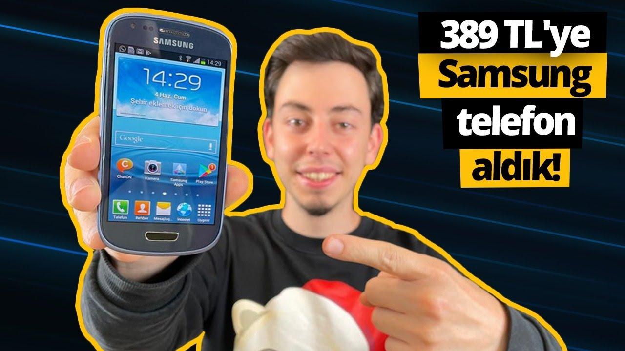 389 TL'ye yenilenmiş Samsung telefon alırsanız ne olur?
