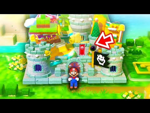 EVERY Level Put Together in Super Mario 3D World... (World 1) - RedFalcon