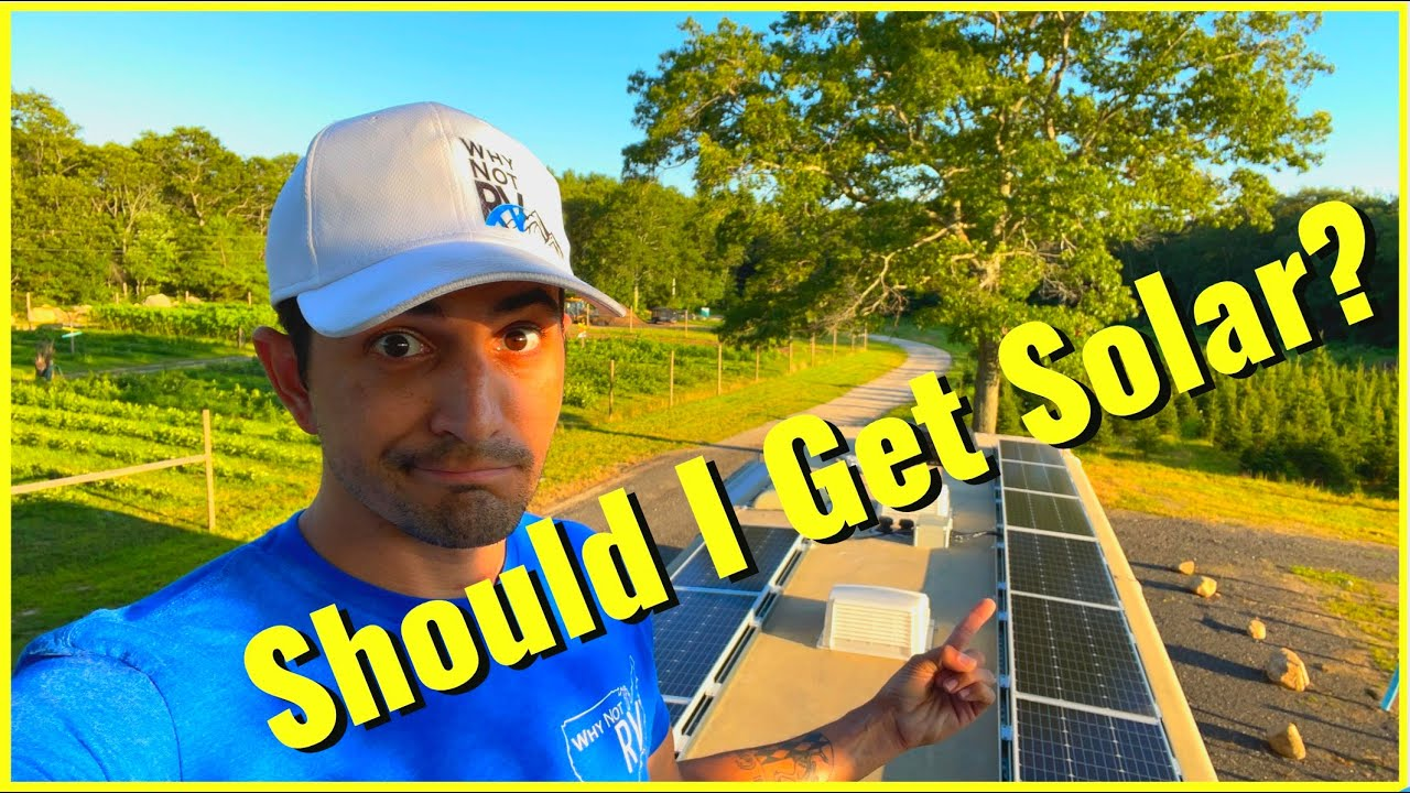 Should you get solar for your RV?