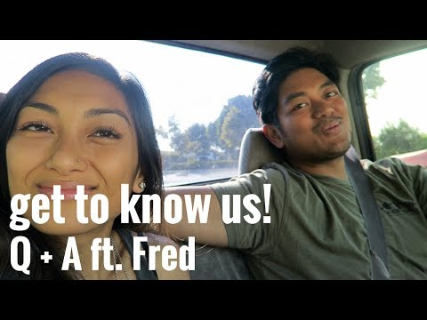 WHY DID HE GO VEGAN? OUR FAVORITE FILIPINO DISHES? // Q + A FT. FRED