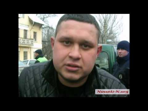 Видео Новости-N: В Николаеве пьяный водитель оказал сопротивление полиции