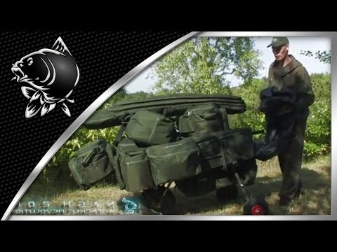 CARP FISHING - NEW NASH 2011 BARROWLOGIX RANGE - FROM THE FREE DVD: NASH 2011 - A TACKLE REVOLUTION