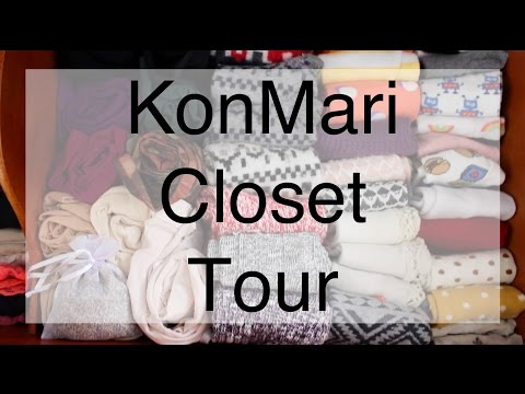 KonMari Closet Tour | Decluttering, Minimalist Style and Fashion