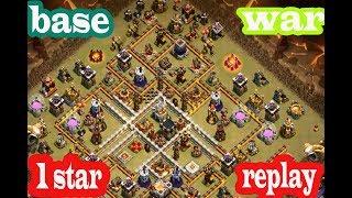 TH 11 war base 2018    clash of clans
