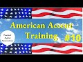 American Accent Training CD4- Part 1