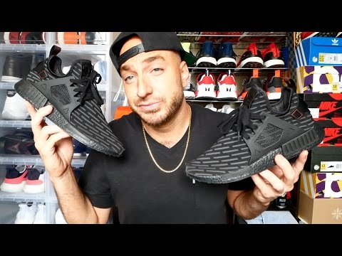Why aren't these NMD's selling out!?? + NMD XR1 Review & On Feet + Leather NMD Wings+Horns fit HUGE!